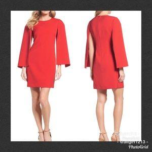 Sale - ELIZA J Cape Sleeve Dress